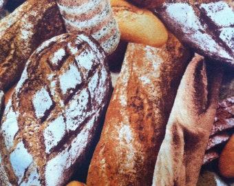 BTHY Loaves of Bread - Farmer's Market by RJR Fabrics 100% Cotton
