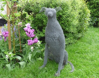 Life size bespoke wire sculptures.