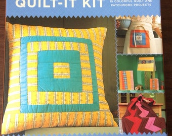 Quilt It Kit  15 colorful quilt and patchwork projects