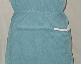 80's LOUNGEWEAR PLAYWEAR SUNDRESS  bathing suit cover up still has tag
