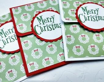 Gift Card Holders Christmas Card Set Money Holder Merry Christmas Gift Wrap Coworker Gifts Secret Santa Stocking Stuffer Money Holders