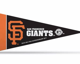 "San Francisco Giants MLB Large Pennants, 12"" x 30"""