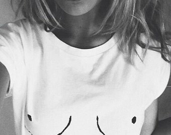Boob Shirt - Free the Nipple, Aesthetic Clothing, Graphic Tee, Boobies Shirt, Nipple Shirt, Boobs Shirt, Free The Nipple Shirt,Boobie Tshirt