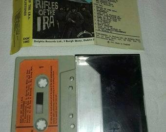 The Wolfetones Rifles Of The IRA Cassette Tape Rare 1971
