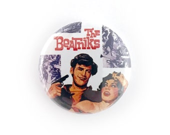 "The Beatniks - 1"" Button Pin"