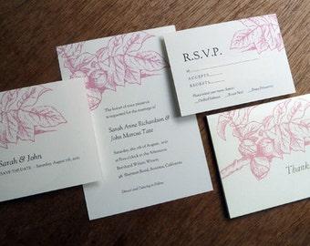 Floral Printable Wedding Correspondence Set