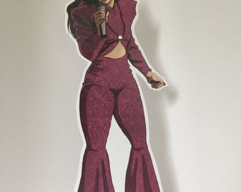 Selena standee