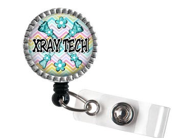 XRay Tech Badge Reel, Medical ID Holder