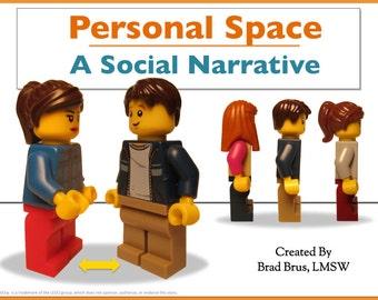 Personal Space Social Narrative - Social Story - Autism