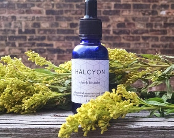 Facial oil for rosacea, sensitive skin and acne treatment - non-greasy, all natural