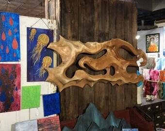 Wood Wall Hanging (Butternut)