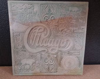 Chicago VII Vinyl LP Vintage Rock Album 1974 Columbia Records Dual Record Set Chicago 7