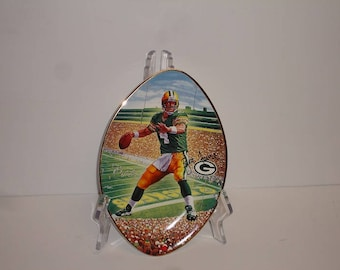 "NFL Brett Favre  ""Leader of the Pack"" Limited Edition from The Bradford Exchange Plate"
