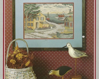 Linda Meyers:  Village Harbor Cross Stitch Chart