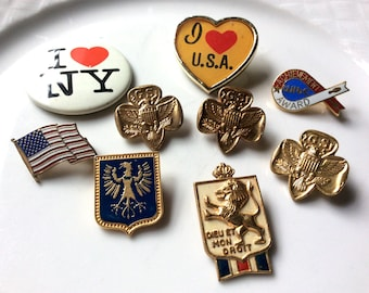 Lot of collectible pins