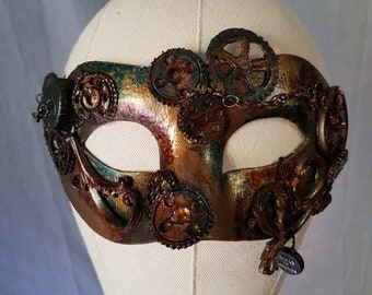 Papier-mâché mask various handmade models