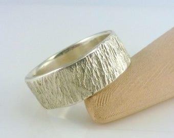Organic wedding ring Etsy