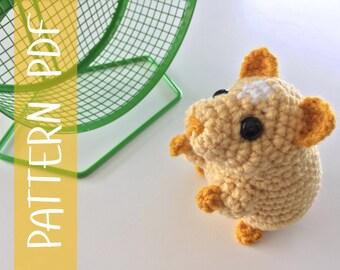 PDF CROCHET PATTERN - Hamster