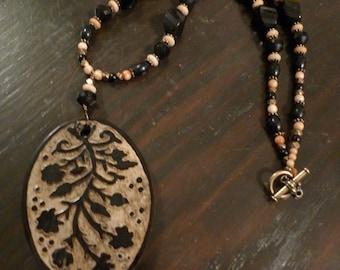 Victorian Vine Necklace