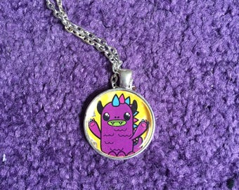 Monster Love Necklace
