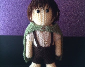 Crochet Frodo -Lord of the Rings