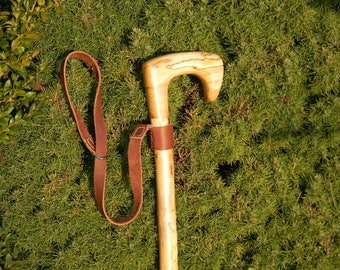 Cardigan Style Cane with Wrist Strap, walking cane, walking sticks canes, cane, walking stick, wooden cane