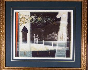EDWARD JOHN STEVENS, Jr. / Original Painting / Life Magazine Featured Artist