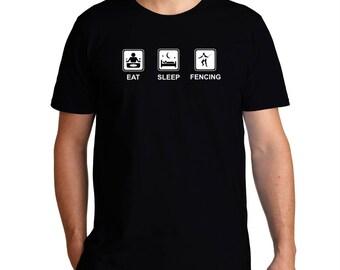 Eat Sleep Fencing T-Shirt