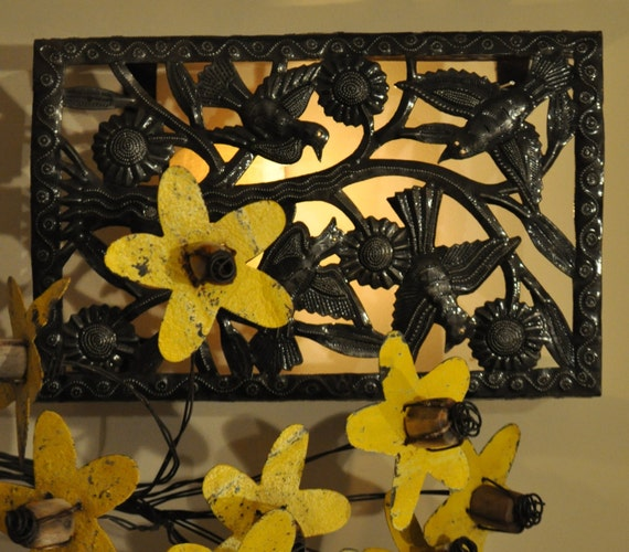 Lighting & Outlet Covers - Art Under The Tree Haiti Metal Art