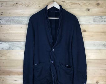 Rare! Vintage Calvin Klein Cotton Coat Size Medium