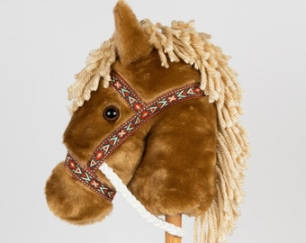 Palomino Stick Horse -Stick Pony- Hobby Horse