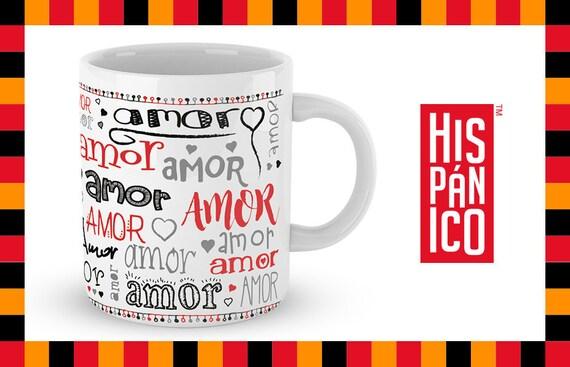 """Spanish Mug """"Amor"""""""