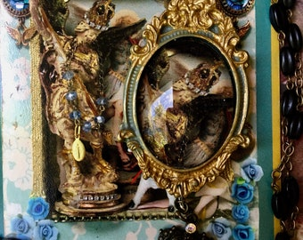 St Michael amulet rosary