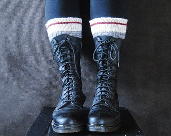 STOUT Boot Toppers Knitting Pattern