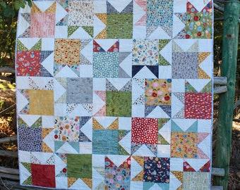 Kaleidoscope of Stars PDF Quilt Pattern