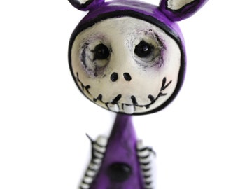 Halloween Bunny - Spooky Bunny - Halloween Decor - Made to Order