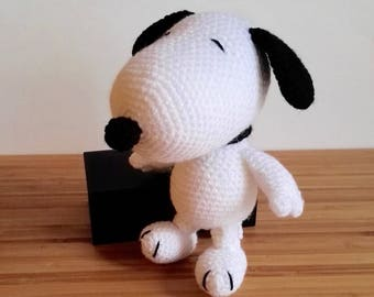Amigurumi Patterns Snoopy : Amigurumi pilot snoopy puppy dog crochet pattern christmas