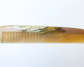 Sale - Two Pieces of C003 Hair Comb Handmade From Cattle Horn