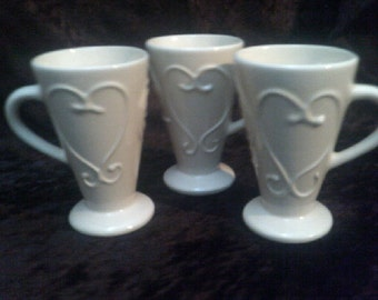 Coffee Mugs Kathy Brauer Harper Lee Set of 3