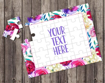 Create Your Own Puzzle - Pregnancy Announcement - Custom Puzzle - Personalized Puzzle - Announcement Ideas - Wedding Announcement - CYOP0017