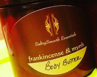 Frankincense & Myrrh Body Butter