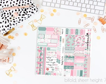 Spring Forward TN STANDARD Weekly Kit // 120+ Matte Planner Stickers // Perfect for your Standard Size Traveler's Notebook // TNS0550