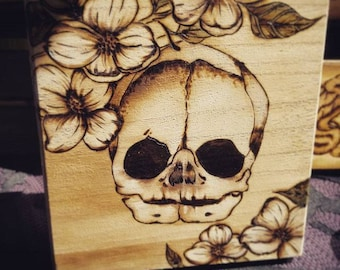 Dogwood Fetal Skull Box