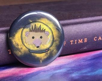 Astro Hedgie - Pin/Badge