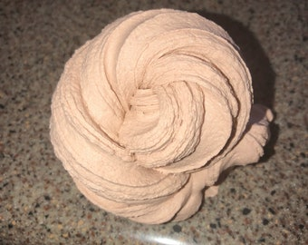 4oz. Chocolate mousse butter slime