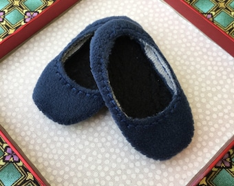 Hearts 4 Hearts Doll Shoes NEW SIZE! Blue Velvet Ready To Ship