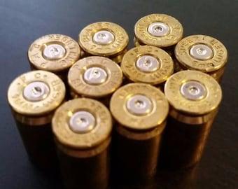 Set of 100 9mm Spent Bullet Shell Casings