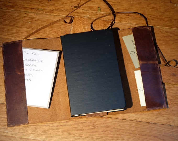 Include a Classic Notebook With My Custom Leather Notebook Cover