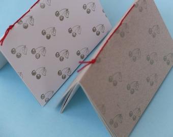 Cherry notebooks