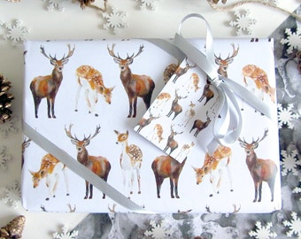 Deer Wrapping Paper